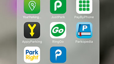 Best parking apps - header