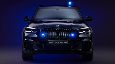 BMW X5 Protection VR6 - full front dark