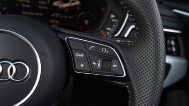 Audi A5 - steering wheel detail