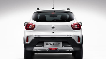 Renault City K-ZE - full rear