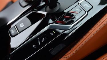 BMW M5 centre console