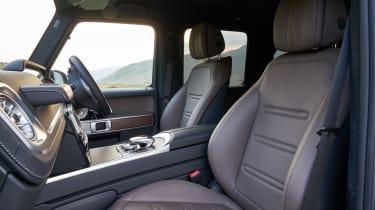 Mercedes G 350 d - drivers seat