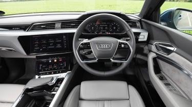 Audi e-tron long termer - first report dash