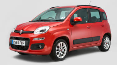Used Fiat Panda - front