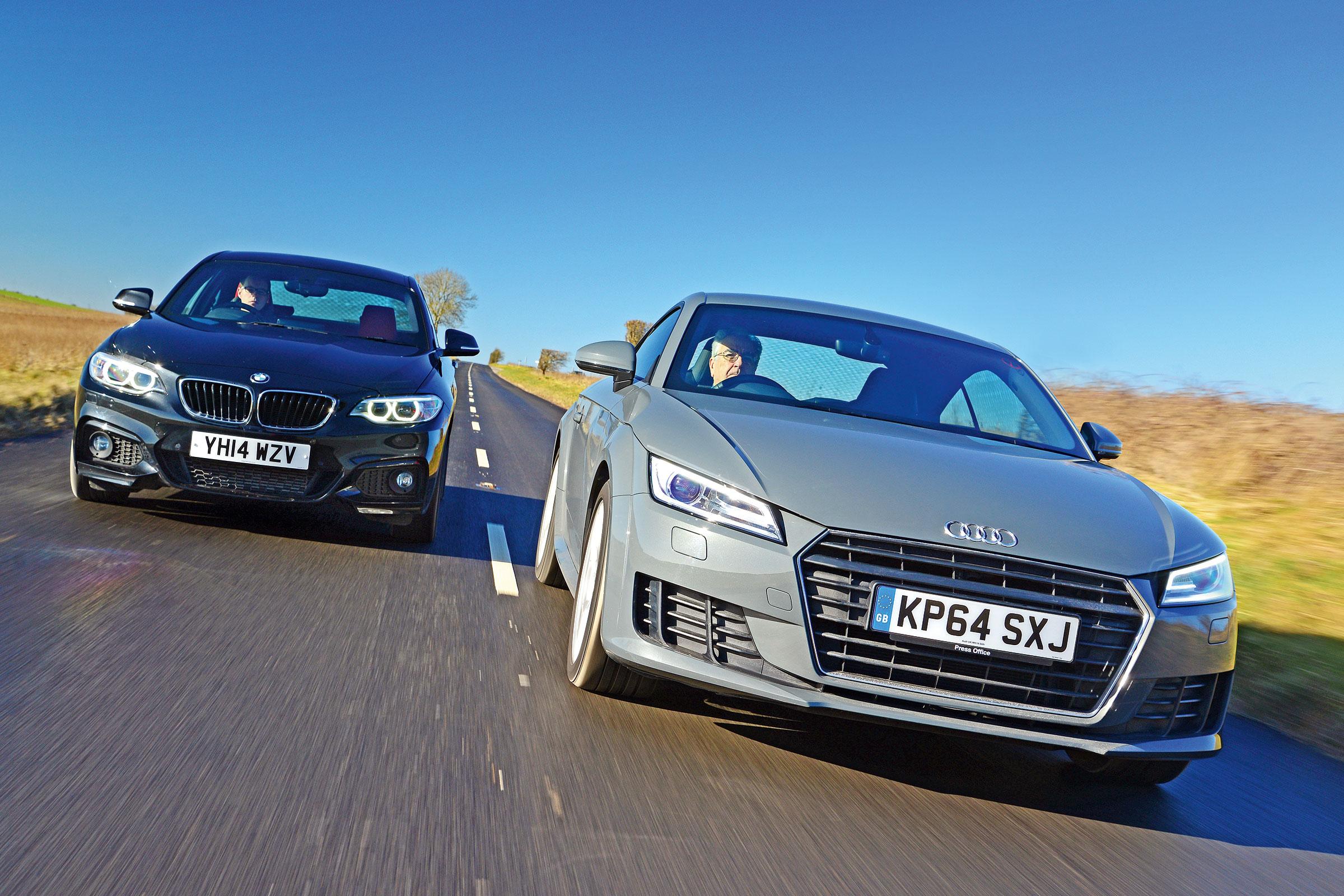Audi TT Ultra vs BMW 220d M Sport | Auto Express