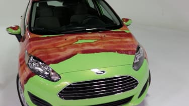 Ford Fiesta Bacon front detail