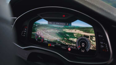 Audi A6 Avant - virtual cocktpit