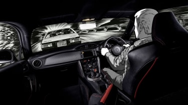 Toyota GT 86 Initial D - interior