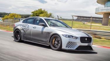 Jaguar XE SV Project 8 - front/side