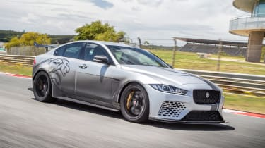 Jaguar XE SV Project 8 - front/side