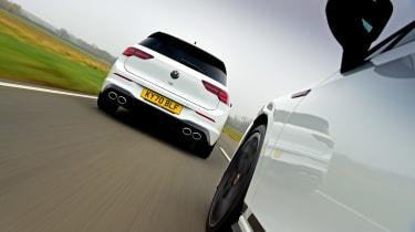 Volkswagen Golf GTI Clubsport vs Volkswagen Golf R - rear