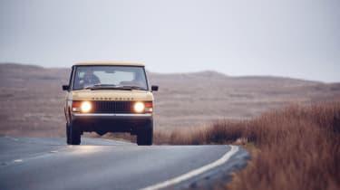 Range Rover Reborn - lights on