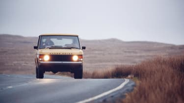 Range Rover Reborn - lights on