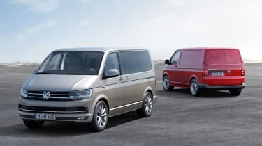 Going on sale later this year, the latest model of Transporter is up to 15% more efficienct than before, powered by a range of familiar 2.0-litre diesel powerplants.