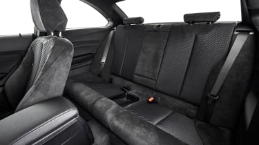 BMW M240i Coupe facelift review - rear seats