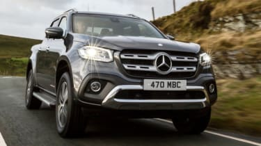 Mercedes X-Class review - front quarter low