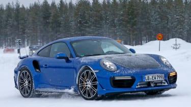 Porsche 911 991 GT2 RS spy shots -