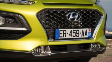 Hyundai Kona Premium SE 2017 - front grille