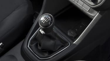 Caddy gear lever