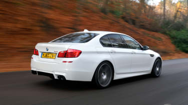 BMW M5 Competition Pack rear tracking