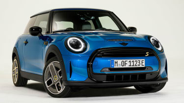 MINI Electric facelift - front