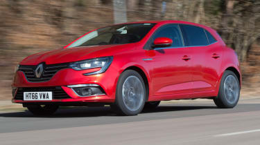 Renault Megane long term test - front