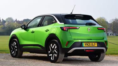 Vauxhall Mokka-e - rear static