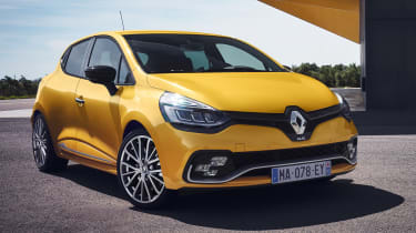 Renault Clio RS - front