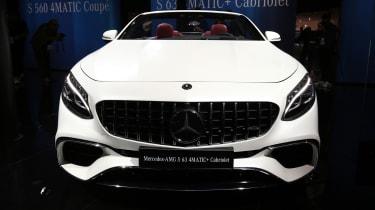 Mercedes S-Class Cabriolet - front