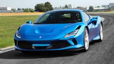 Ferrari F8 Tributo - front track