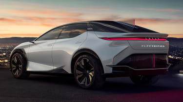 Lexus LF-Z Electrified concept - rear