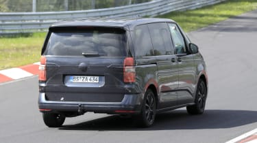 VW T7 spy - rear