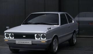 Hyundai Pony - front