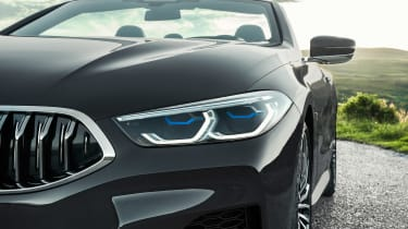 BMW 8 Series Convertible - front detail