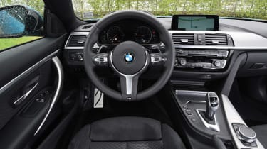 BMW 440i - dash