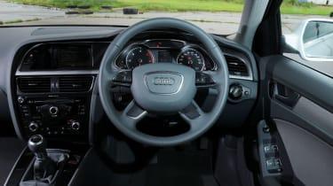 Audi A4 TDIe interior