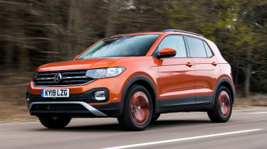 Volkswagen T-Cross - front tracking