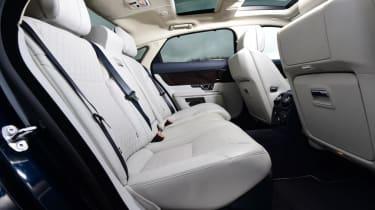 Used Jaguar XJ - rear seats