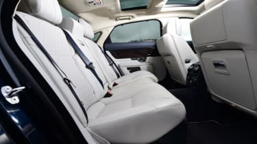 Used Jaguar XJ - rear seats