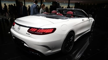 Mercedes S-Class Cabriolet - rear