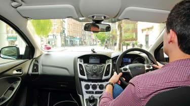 Autogas Ford Focus - interior