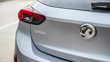 Vauxhall Corsa - rear detail