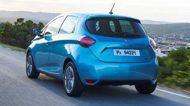 Renault ZOE - rear