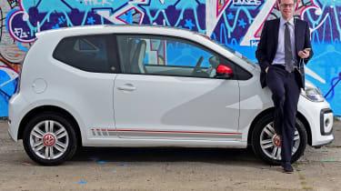 Volkswagen up! - long termer first report header