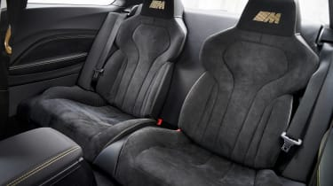 BMW M Performance Parts M2 bucket seats rear