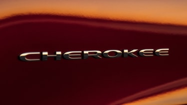 Jeep Cherokee - badge