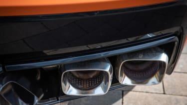 Chevrolet Corvette Convertible - exhausts