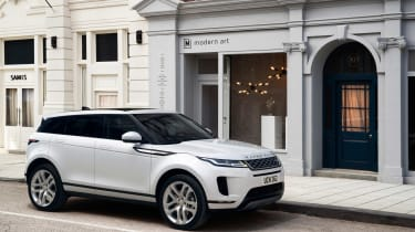 New Range Rover Evoque - white front