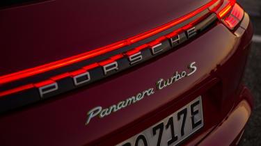 Porsche Panamera Turbo S E-Hybrid Sport Turismo - tailgate