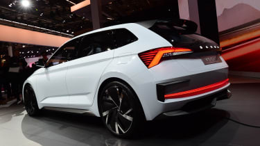 Skoda Vision RS - Paris rear